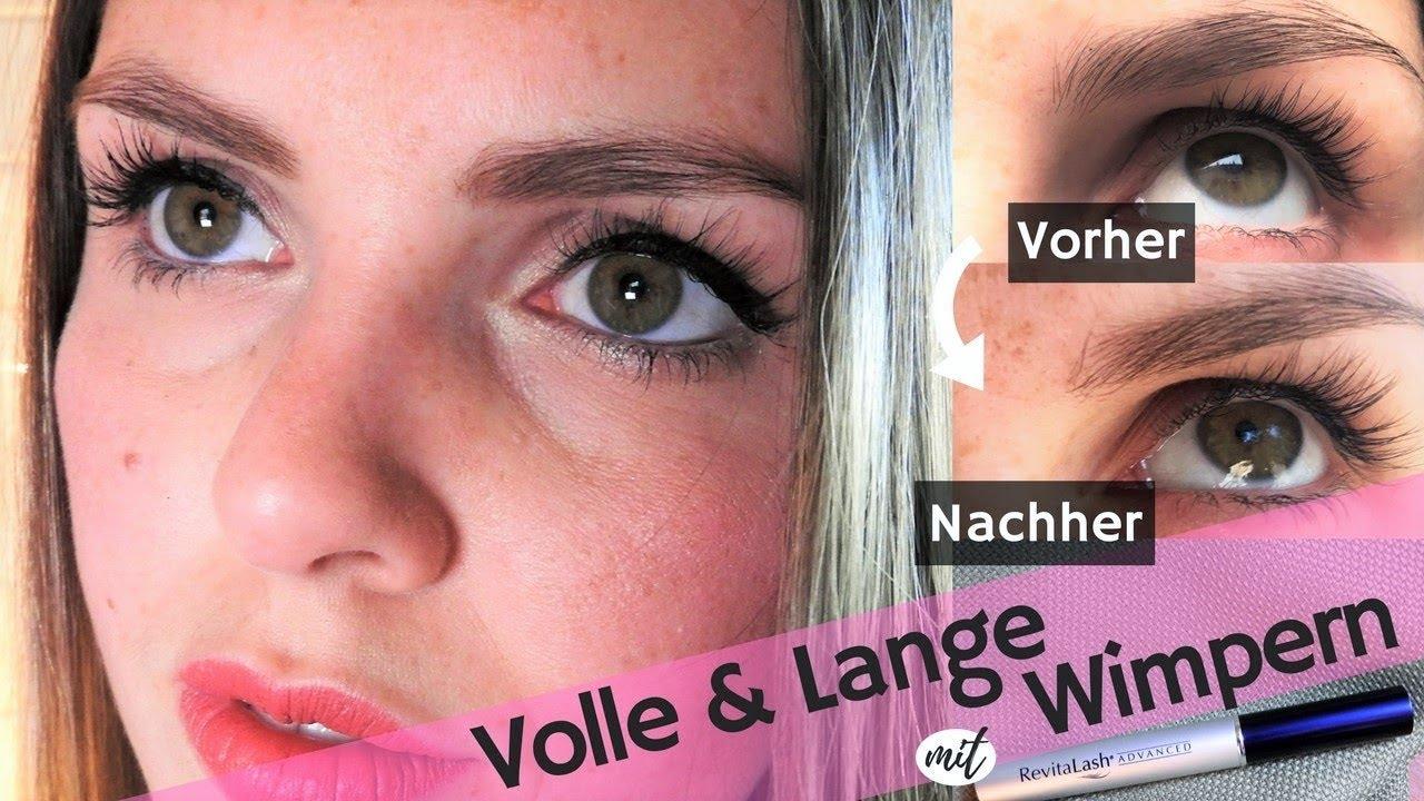 11d17e1d61d Volle & lange Wimpern OHNE Extensions - Revitalash Wimpernserum REVIEW |  marahonig