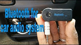 Do it yourself: Install a bluetooth device in your car - YouTube