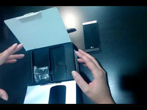 LG Mini ou LG GD880 - Unboxing