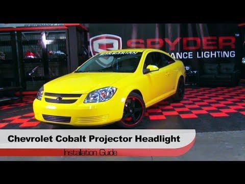 Spyder Auto Installation 2005 10 Chevrolet Cobalt Pontiac Pursuit G7 Projector Headlights