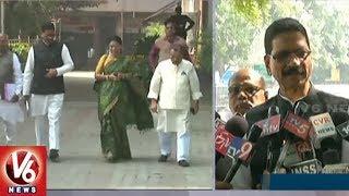 Telangana Congress Leaders Meet Chief Election Commissioner Over Voters List | V6 News