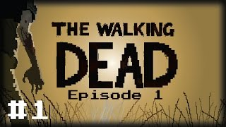 GOING DOWN A LONELY ROAD - Ep.1 | The Walking Dead Episode 1: A New Day