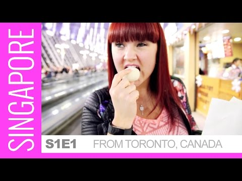 Travel from Toronto to Singapore - #KASSYPLUSONE - Love Eat travel!