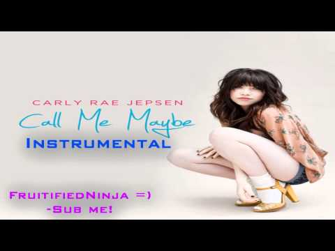 Carly Rae Jepsen - Call Me Maybe Instrumental (With DOWNLOAD Link)