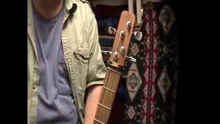 Mini Bouzouki dulcimer body GDAE sound demo