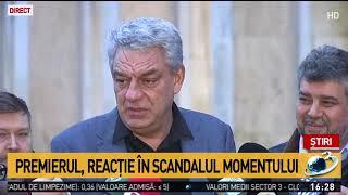 Mihai Tudose, reacție în scandalul momentului