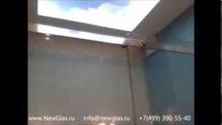 Душевые кабины из безопасного стекла по индивидуальным размерам туполев 7(Компания www.NewGlas.ru изготавливает и устанавливает стеклянные душевые кабины NewGlas из безопасного закаленного..., 2013-09-22T11:42:02.000Z)
