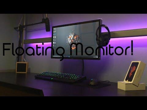DIY monitor mount without VESA.