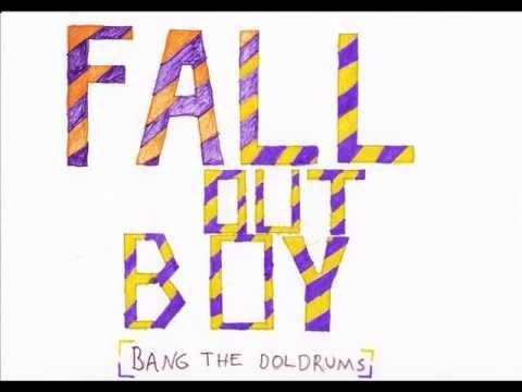 Fall Out Boy - Bang the Doldrums (stickman video+lyrics)