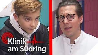 Leon (10) tritt Freddy: Wieso ist er so zappelig? | #FreddyFreitag | Klinik am Südring | SAT.1