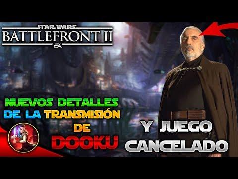 Nuevos Detalles de la TRANSMISIÓN del CONDE DOOKU - EA - DICE - Noticias - Star Wars Battlefront 2 thumbnail