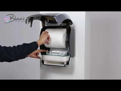 Handtuchrollenspender Sensor Blanc Hygienic COSMOS 4250 1080p