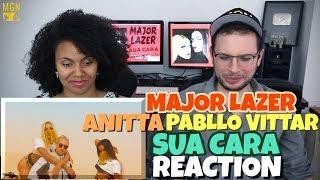 Major Lazer - Sua Cara (feat. Anitta &amp Pabllo Vittar) REACTION