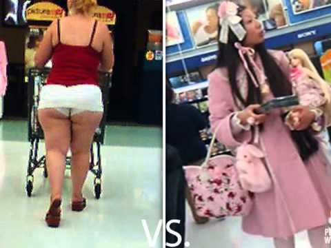 Sexy people of walmart