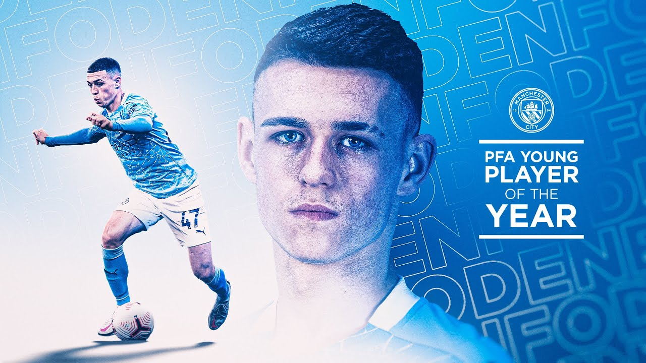 FODEN VOTED PFA YOUNG PLAYER OF THE YEAR!