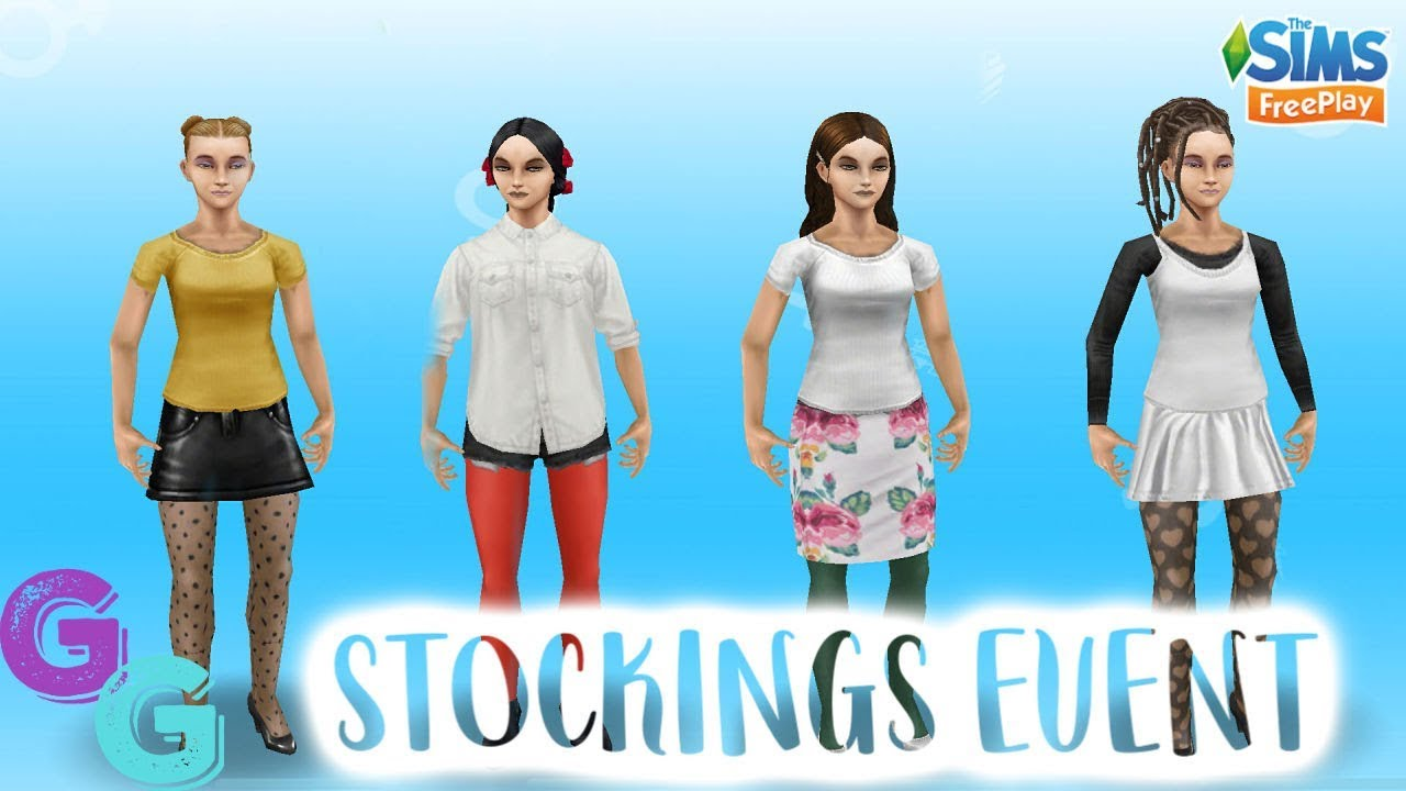 Sims Freeplay Stockings Fashion Design Event Early Access Youtube