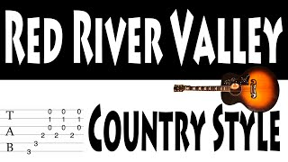 Red River Valley Guitar Tab Country Style