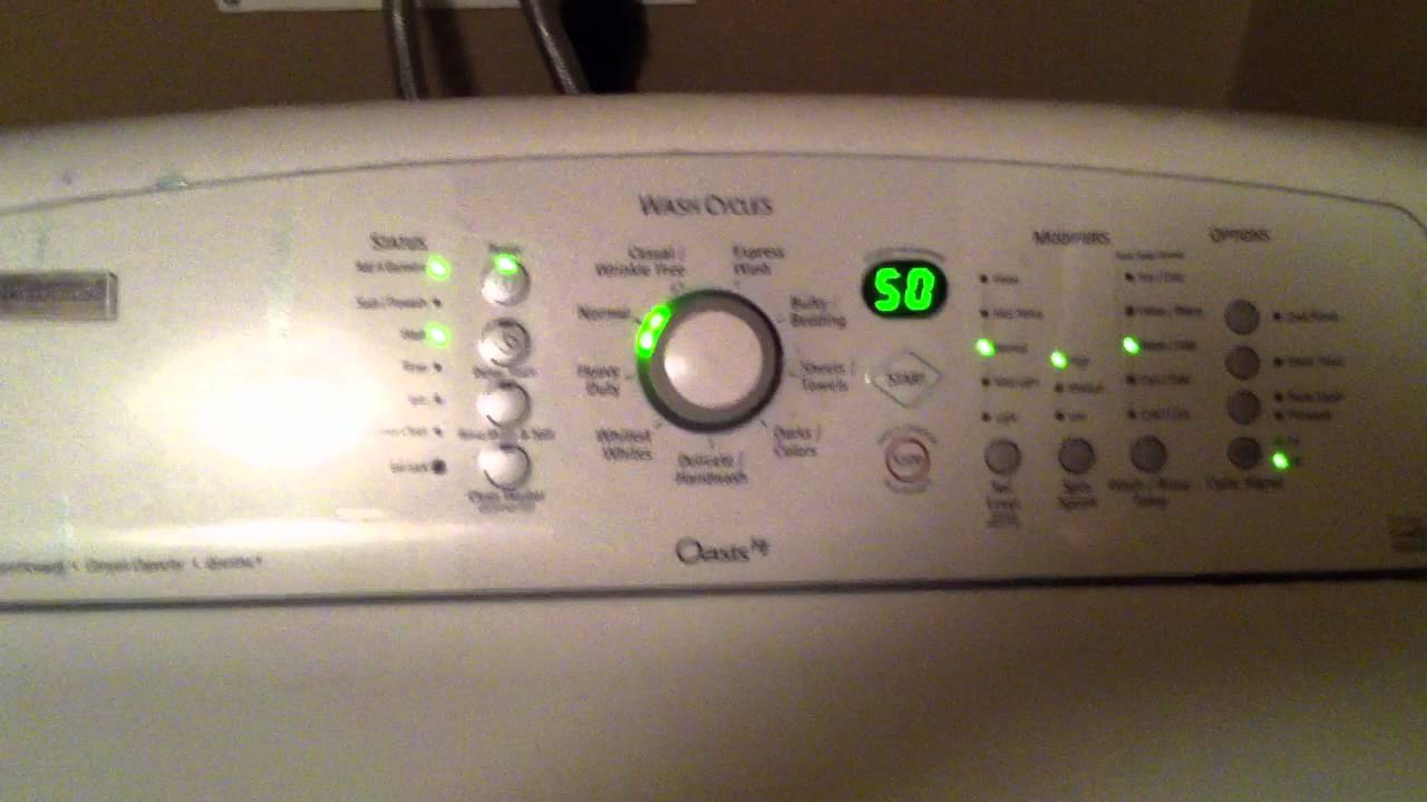 kenmore elite oasis he washer youtube rh youtube com kenmore elite oasis he washer troubleshooting kenmore elite oasis he washer parts diagram