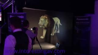 İlginç AV Ltd Panasonic için Holografik İllüzyon yaratmak