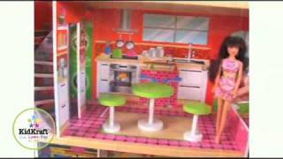Wooden Dollhouse Promotional Video For Barbie Dollhouse
