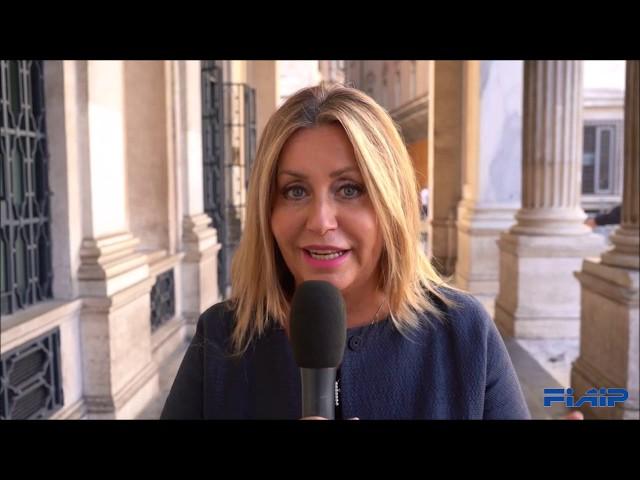 Assemblea di Metà Mandato Fiaip, Napoli 10-12 Ottobre 2019 - Saluto On. Catia Polidori (FI)