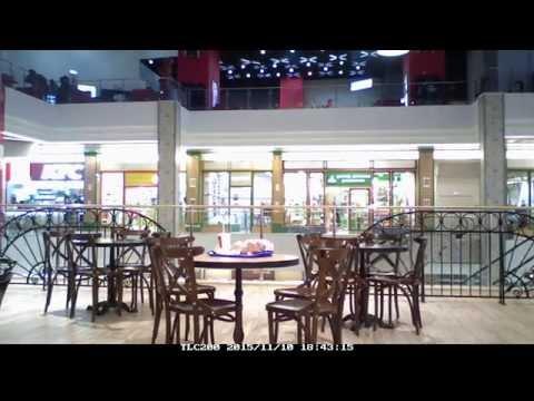 Ресторанный дворик на 3 этаже ТРЦ Лондон, Дальневосточный пр. панорамная ускоренная съёмка
