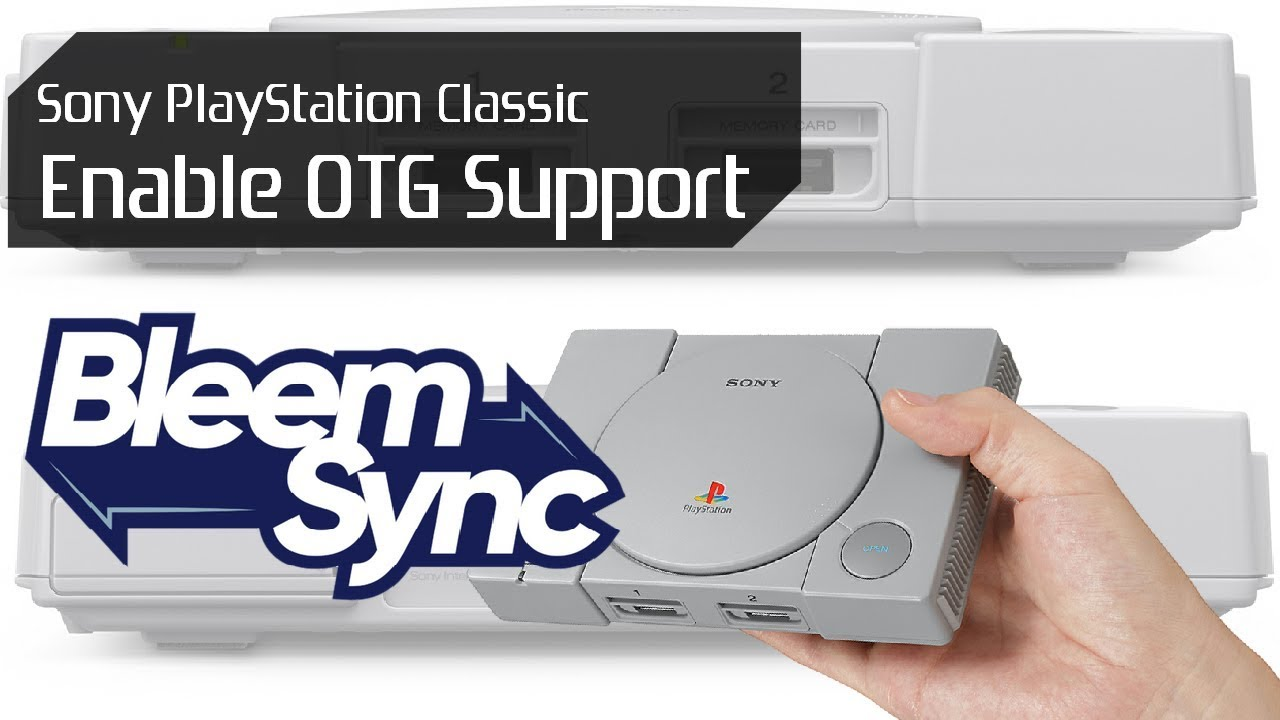 Sony PlayStation Classic BleemSync 1 1 Hack Update Tutorial