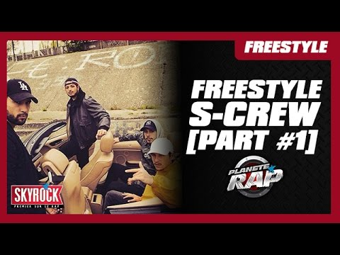 Youtube: S-Crew – Freestyle #DestinsLiés [Part #1] #PlanèteRap