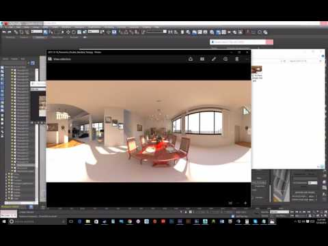 V-Ray 360 Panoramic Tutorial for YouTube, Facebook, and GearVR