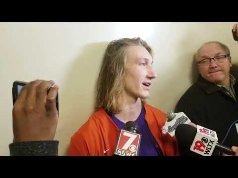 Trevor Lawrence on staring down the South Carolina bench