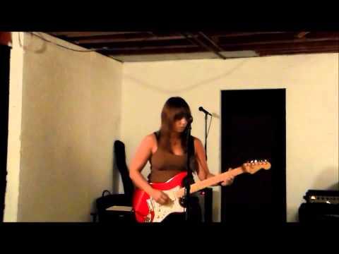 Maria Ferrara plays and sings Jimi Hendrix's