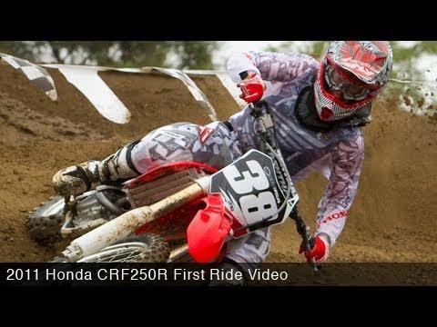 MotoUSA 2011 Honda CRF250R First Ride