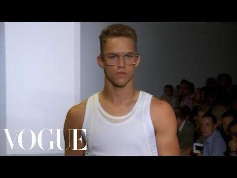 Fashion Show - Calvin Klein: Spring 2012 Menswear