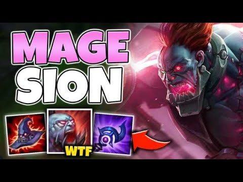 FULL AP SION TURNS MINIONS INTO BOMBS! ONE E WILL NUKE YOU - League of Legends