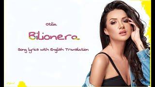 Otilia- Bilionera Lyrics with English translation