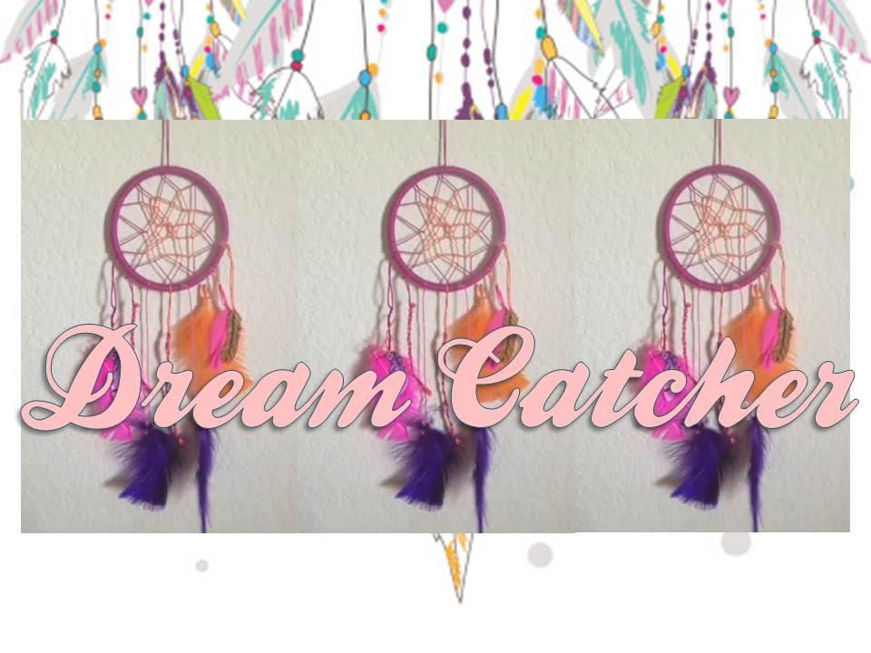 DIY Mini Dream Catcher YouTube Gorgeous Mini Dream Catcher Bulk