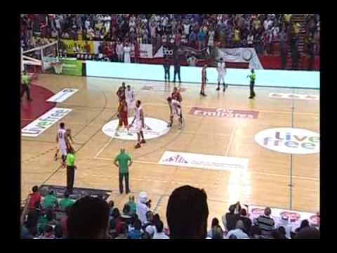 بطولة دبي الدولية بكرة السلة 2015- المباراة النهائية بين الرياضي وحكمة 24/01/2015