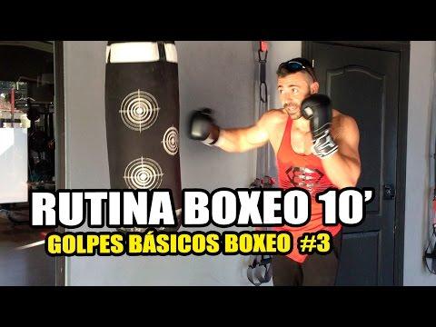 🥊 RUTINA BOXEO PRINCIPIANTES    GOLPES BÁSICOS BOXEO #3 🥊 Aprender BOXEO en Casa