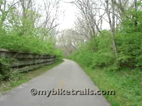 Little Miami Scenic Trail -  Morrow North to Ft. Ancient & Oregonia, Ohio