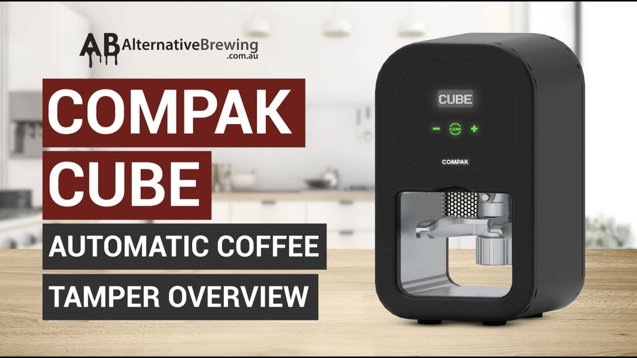 Compak Cube Automatic Tamper Overview