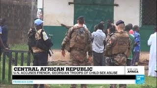 New claims of child sex abuse by peacekeepers in Central African Republic