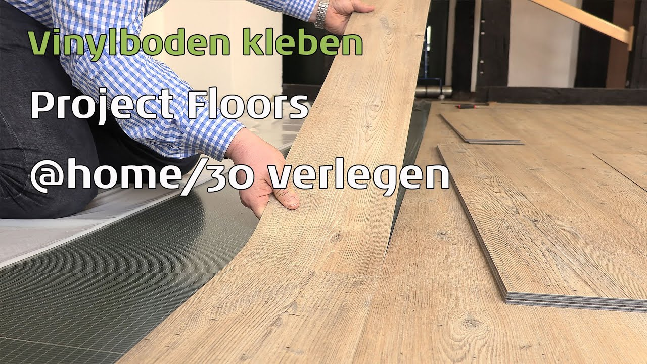 project floors vinylboden kleben floors home 30 youtube. Black Bedroom Furniture Sets. Home Design Ideas