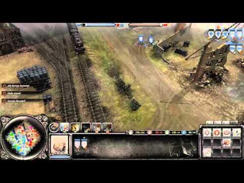 Coh 2 - Axis multiplayer match 14 port hamburg