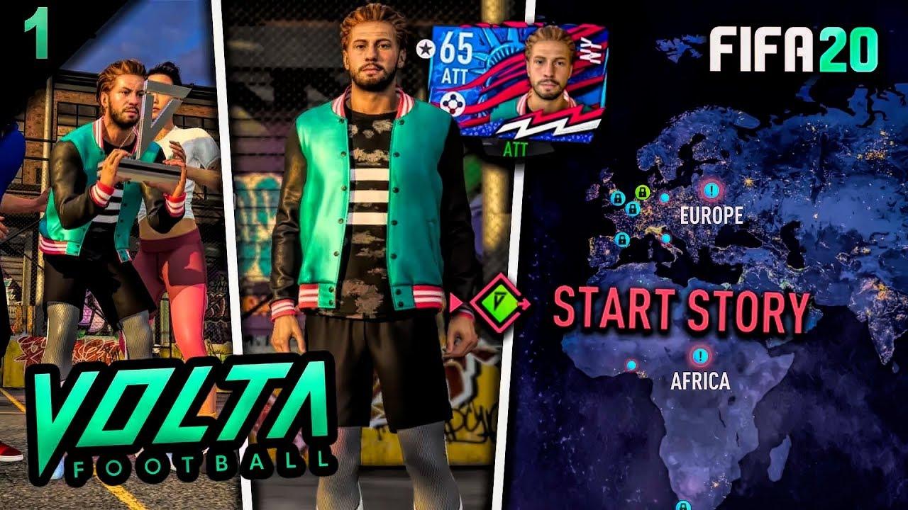 FIFA 20 VOLTA Story Mode Episode #1 Videosu