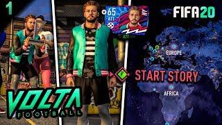 FIFA 20 VOLTA Story Mode Episode #1 - THE START! (Volta Full Movie)