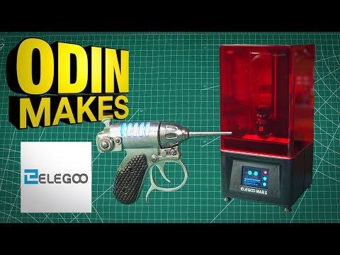 Odin Makes: Noisy Cricket with Mars 3D printer from Elegoo