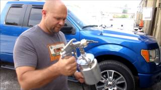 Soap in Air Injection for waterless car wash