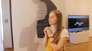 Театр тени Марины Гуровой на открытии V Казанской биеннале печатной графики