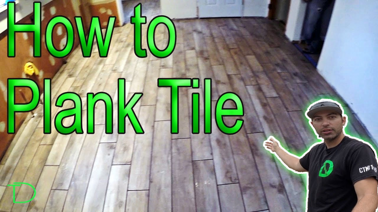 How To Install 6x36 Plank Tile East Brunswick New Jersey