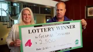 Pennsylvania Lottery Winner Washington County